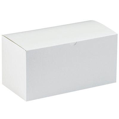 """17 x 8 1/2 x 8 1/2"""" White Gift Boxes"""