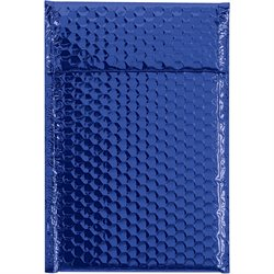 "7 1/2 x 11"" Blue Glamour Bubble Mailers"