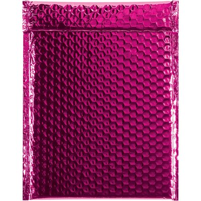 """9 x 11 1/2"""" Pink Glamour Bubble Mailers"""