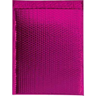 """19 x 22 1/2"""" Pink Glamour Bubble Mailers"""