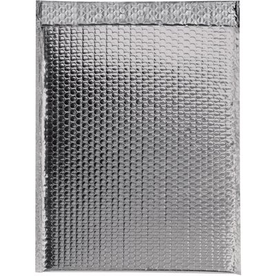 """19 x 22 1/2"""" Silver Glamour Bubble Mailers"""
