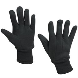 100% Jersey Cotton Gloves - Small