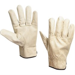Cowhide Leather Drivers Gloves - Large