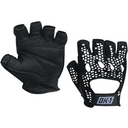 Mesh Backed Lifting Gloves - Black - Medium