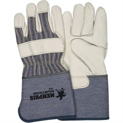 Deluxe Leather Palm Gloves - Large