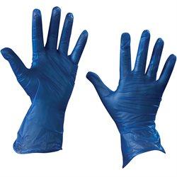 Vinyl Gloves- Blue - 5 Mil - Powder Free - Medium