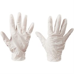 Latex Industrial Gloves Powder-Free - Medium