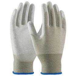 ESD Palm Coated Nylon Gloves - Large