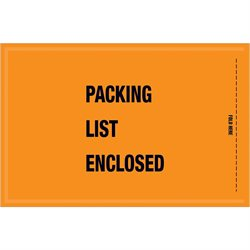 "5 1/4 x 8"" - Mil-Spec ""Packing List Enclosed"" Envelopes"