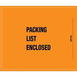 "8 1/2 x 10"" - Mil-Spec ""Packing List Enclosed"" Envelopes"