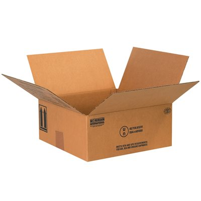 """10 1/4 x 10 1/4 x 6 3/16"""" 4 - 1 Quart Paint Can Boxes"""