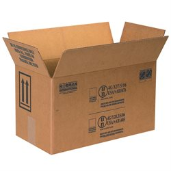 "17 x 8 1/2 x 9 5/16"" 2 - 1 Gallon Paint Can Boxes"