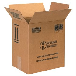 "11 3/8 x 8 3/16 x 12 3/8"" 2 - 1 Gallon F-Style Paint Can Boxes"