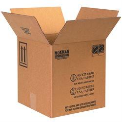 """12 1/4 x 12 1/4 x 12 3/4"""" 4 - 1 Gallon Plastic Jug Haz Mat Boxes"""