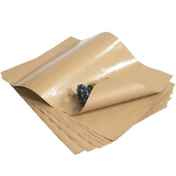 "24 x 36"" - 50 lb. Poly Coated Kraft Paper Sheets"