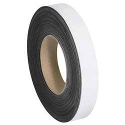 """1"""" x 50' - White Warehouse Labels - Magnetic Rolls"""