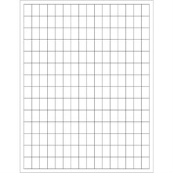 """1/2 x 3/4"""" White Rectangle Laser Labels"""