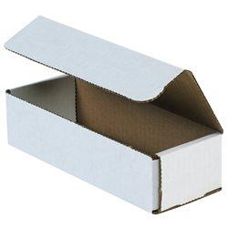 "10 x 3 x 2"" White Corrugated Mailers"