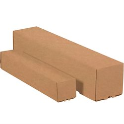 "5 x 5 x 37"" Kraft Square Mailing Tubes"