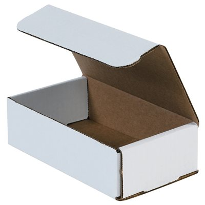 "7 x 4 x 2"" White Corrugated Mailers"
