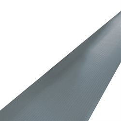 2 1/4 x 5' Gray Economy Anti-Fatigue Mat