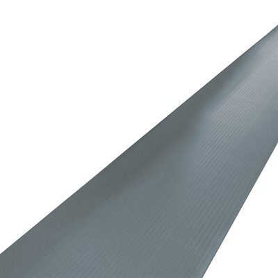 4 x 10' Gray Economy Anti-Fatigue Mat