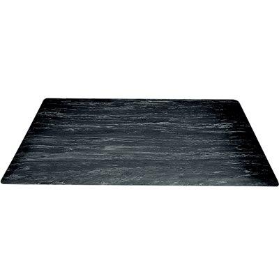 """18 x 30"""" Black Marble Anti-Fatigue Mat"""