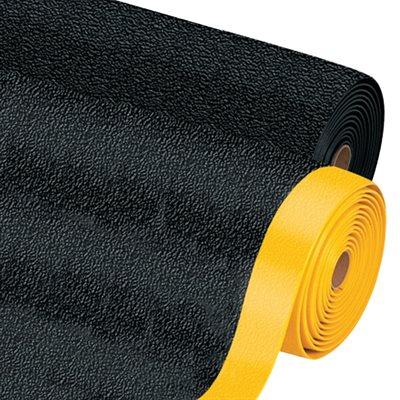 3 x 4' Black Premium Anti-Fatigue Mat