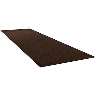3 x 10' Brown Economy Vinyl Carpet Mat