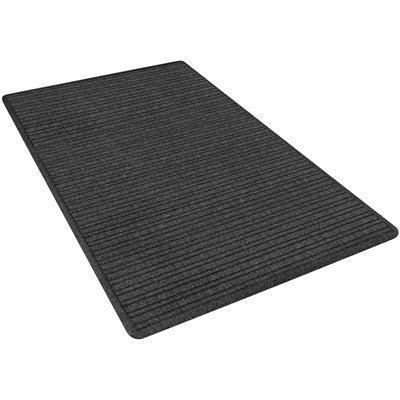 4 x 6' Charcoal Deluxe Entry Mat