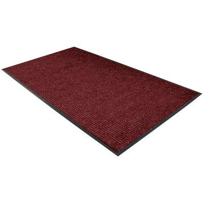 3 x 6' Red Deluxe Vinyl Carpet Mat