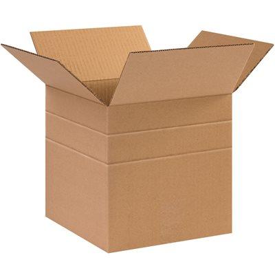 """16 x 12 x 6"""" Multi-Depth Corrugated Boxes"""