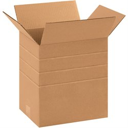 "11 1/4 x 8 3/4 x 12"" Multi-Depth Corrugated Boxes"