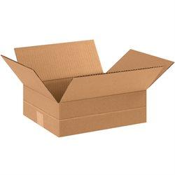 """12 x 10 x 4"""" Multi-Depth Corrugated Boxes"""