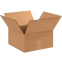 """12 x 12 x 8"""" Multi-Depth Corrugated Boxes"""