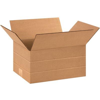 """12 x 9 x 6"""" Multi-Depth Corrugated Boxes"""