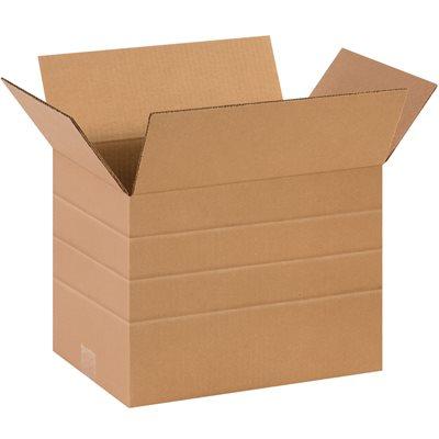 """14 x 10 x 10"""" Multi-Depth Corrugated Boxes"""