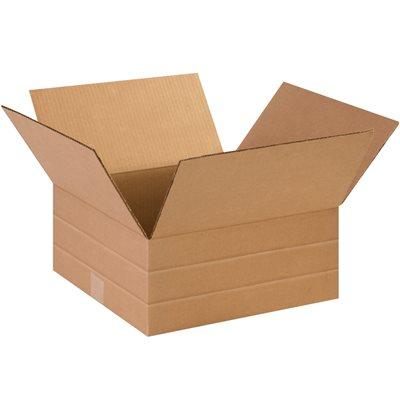 """14 x 14 x 6"""" Multi-Depth Corrugated Boxes"""
