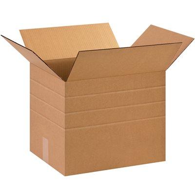 """15 x 12 x 12"""" Multi-Depth Corrugated Boxes"""