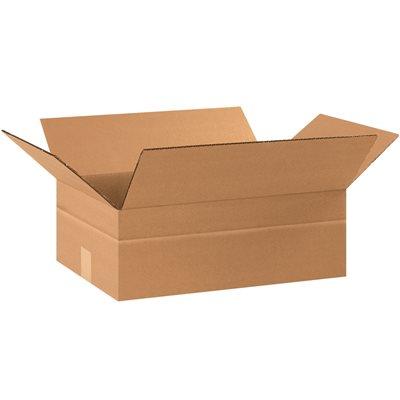 """17 1/4 x 11 1/4 x 6"""" Multi-Depth Corrugated Boxes"""