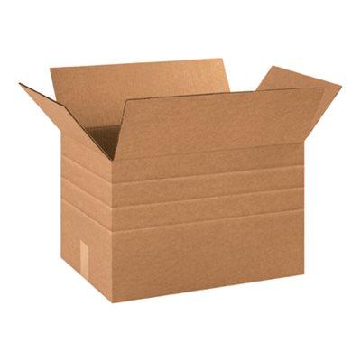 """18 x 12 x 12"""" Multi-Depth Corrugated Boxes"""