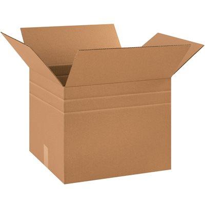 """18 x 15 x 15"""" Multi-Depth Corrugated Boxes"""
