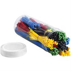 Cable Tie Kit - Assorted Colors