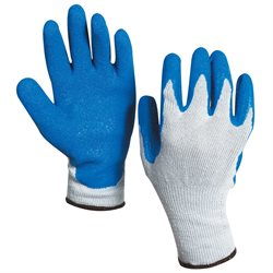 Rubber Coated Palm Gloves - Medium