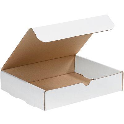 "10 x 9 x 2"" White Literature Mailers"