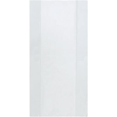 """12"""" x 8"""" x 20"""" - 3 Mil Gusseted Poly Bags"""