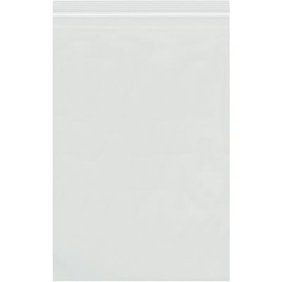 """13 x 20"""" - 4 Mil Reclosable Poly Bags"""