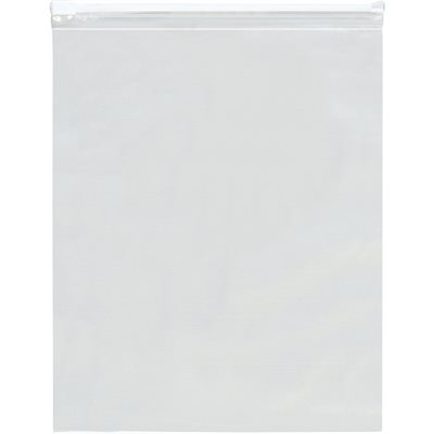 """16 x 18"""" - 3 Mil Slide-Seal Reclosable Poly Bags"""