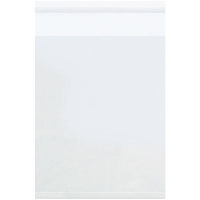 """4 3/4 x 6 3/4"""" - 1.5 Mil Resealable Polypropylene Bags"""