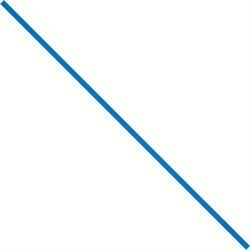 """4 x 5/32"""" Blue Paper Twist Ties"""